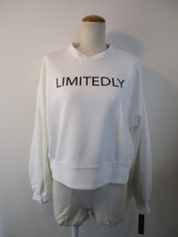 アヤン/ayane  sweat volumy sleeve pullover  off white
