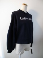 アヤン/ayane  sweat volumy sleeve pullover  navy