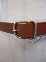 トゥデイフル TODAYFUL Silim Leather Belt  brown