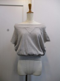 TODAYFUL トゥディフル Offshoulder Harfsleeve Sweat-gry