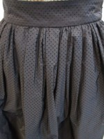 トゥデイフル TODAYFUL Punching Flare Skirt-bk