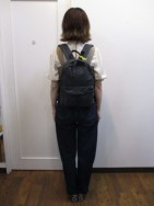 アンパサンド Ampersand cotton nylon rucksack M