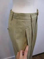 TODAYFUL トゥディフル Tapered Rough Pants  beige  size  38
