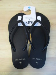 HAYN+MICA&DEAL collaboration sandal-bk-7