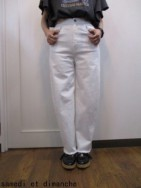 TODAYFUL トゥディフル TRACY's Denim  white  size 24