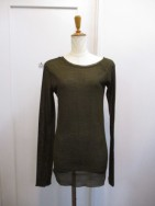 トゥデイフル TODAYFUL  Silkete Asymmetry Tops カーキ