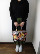 ラプチャー/Rapture  TV-028L PRINT TOTE -Large-  musterd mix