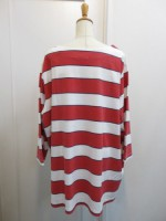 トゥデイフル TODAYFUL Boatneck Border Tee 11820614  red