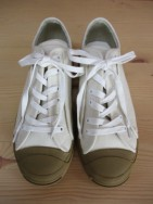 トゥデイフル TODAYFUL  Canvas Sneakers  ecru  size 36