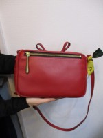 アンパサンド Ampersand tanning pouch bag 0415-405  red