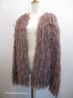 トゥデイフル TODAYFUL Shaggy Knit Cardigan  dusty pink