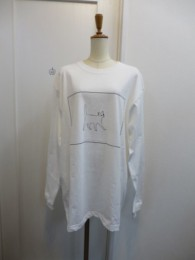 Nora Lily ノラリリー CAT柄 BIG LONGSLEEVE TEE  offwhite