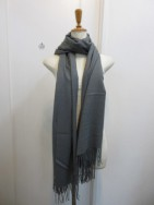 MuNich ミューニック Cashmere like stole-gry