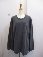 トゥディフル TODAYFUL  Backprint Long T-Shirts ブラック