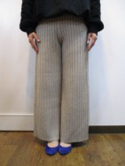 TODAYFUL トゥディフル Rough Knit PT  beige