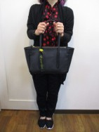 アンパサンド Ampersand  oiltanning tote bag M  black